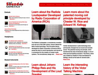 soundgenetics.com screenshot
