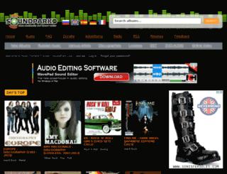 soundpark.ec screenshot