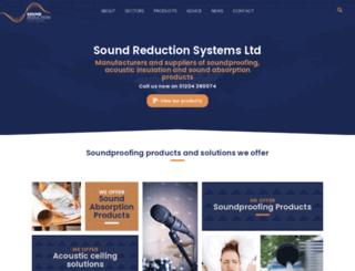 soundreduction.co.uk screenshot