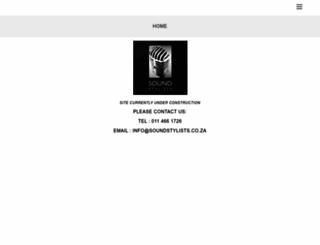 soundstylists.co.za screenshot