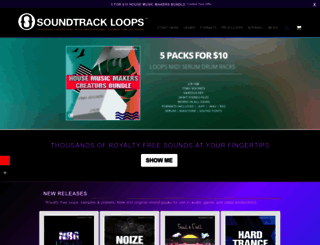 soundtrackloops.com screenshot