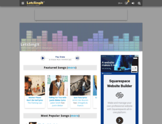 soundtracks.letssingit.com screenshot