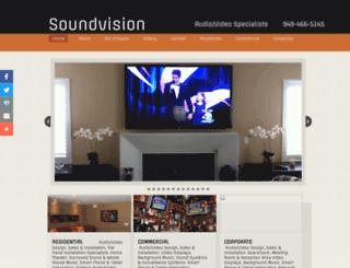 soundvisionav.com screenshot