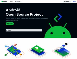source.android.com screenshot