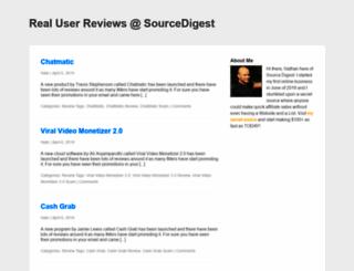 sourcedigestblog.com screenshot