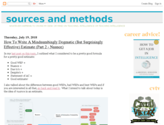 sourcesandmethods.blogspot.com screenshot