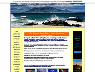 south-africa-tours-and-travel.com screenshot