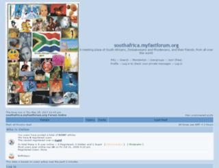 southafrica.myfastforum.org screenshot