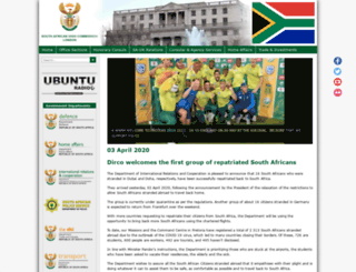 southafricahouseuk.com screenshot