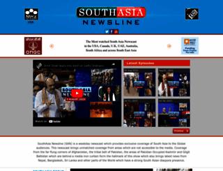 southasianewsline.com screenshot