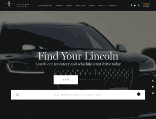 southbaylincoln.com screenshot