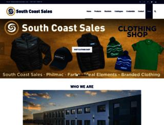 southcoastsales.com screenshot
