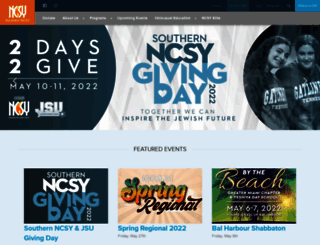 southern.ncsy.org screenshot