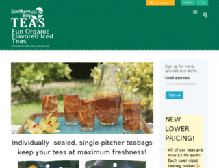 southernboyteas.com screenshot
