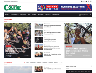 southerncourier.co.za screenshot