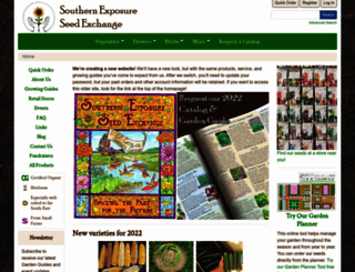 southernexposure.com screenshot