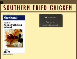 southernfriedchickenrecipe.com screenshot