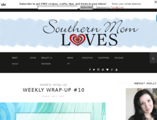 southernmomloves.com screenshot