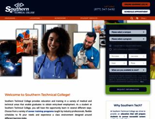 southerntech.edu screenshot