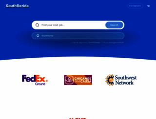 southflorida.jobing.com screenshot
