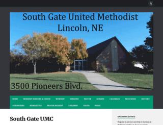 southgateumc.org screenshot