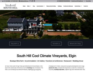 southhill.co.za screenshot