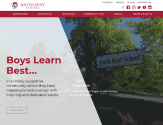 southkentschool.org screenshot