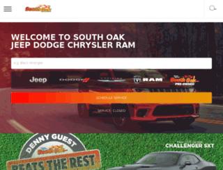 southoakdodge.com screenshot
