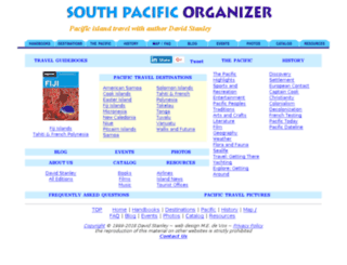 southpacific.org screenshot