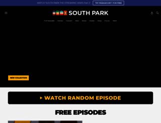 southparkstudios.no screenshot