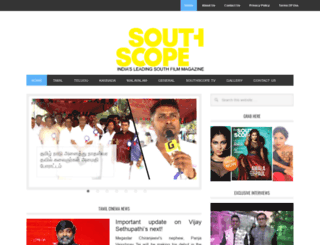 southscope.in screenshot