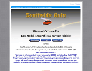 southside-auto.com screenshot