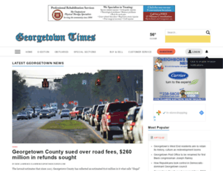 southstrandnews.com screenshot