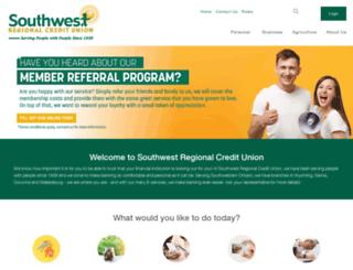 southwestcu.com screenshot