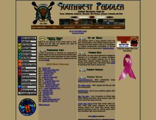 southwestpaddler.com screenshot