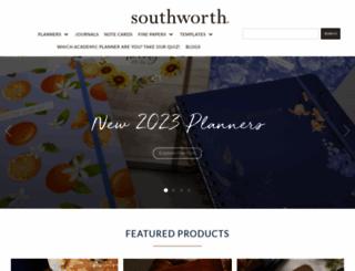 southworth.com screenshot
