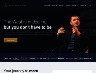 sovereignman.com screenshot