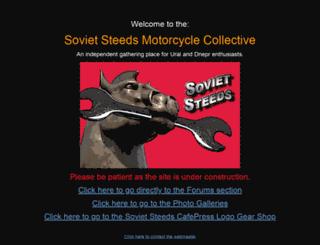 sovietsteeds.com screenshot