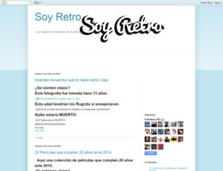 soyretromx.blogspot.com screenshot