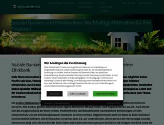 soziale-banken.de screenshot
