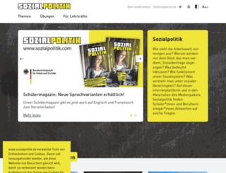sozialpolitik.com screenshot
