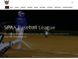 spaa.com screenshot