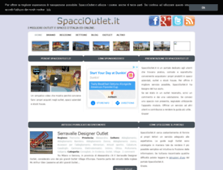 Access spaccioutlet.it. spaccioutlet.it - I migliori Outlet e ...