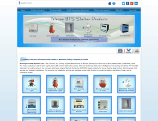 spaceage-security.com screenshot