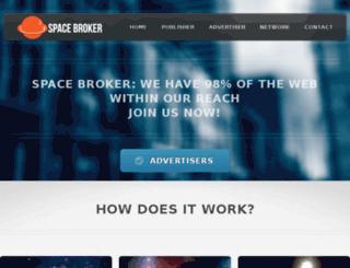 spacebroker.net screenshot
