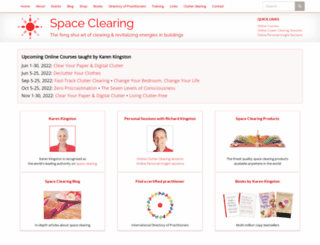 spaceclearing.com screenshot