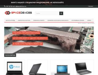 spacedevices.com screenshot