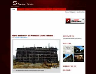 spaceindia.propertywala.com screenshot
