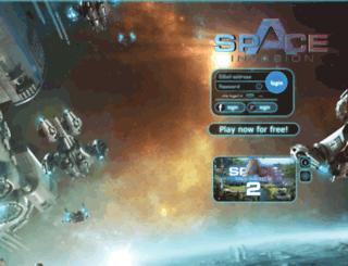 spaceinvasion.info screenshot