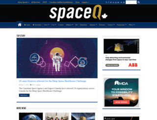 spaceref.ca screenshot